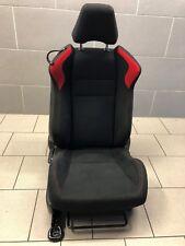 TOYOTA GT86 SUBARU BRZ SITZ BEIFAHRERSITZ vorne rechts STOFF schwarz / rot