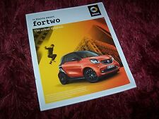 Catalogue / Brochure SMART Fortwo 2014 / 2015 //