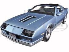 1982 CHEVROLET CAMARO LIGHT BLUE 1/18 DIECAST MODEL CAR BY SUNSTAR 1929