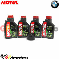 KIT TAGLIANDO OLIO + FILTRO OLIO MOTUL 5100 15W50 BMW 1200 R GS LC 2013