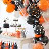 Halloween Party Straws Environmentally Friendly Degradable Creative Paper Straws