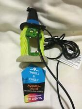 New listing Thrills @ Chills Aquarium décor witch cave led M