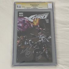 Uncanny X-Force #11 - Signed by Brooks 1:25 Variant CGC 9.6 - X-Force Wolverine