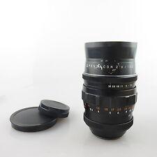 Sonderpreis*** M42 15 Blades Pentacon 2.8/135 Objektiv / lens wie Meyer Orestor