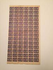1922, Armenia, 302, Sheet of 84, Mint