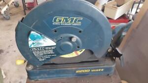 GMC Metal Drop Saw, Cutoff Saw, COS355. metalwork, house, shed, workshop, tools