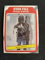 Boba Fett. Rookie Card. 1980 Topps Star Wars ESB. Series 1. NM-MINT Condition.