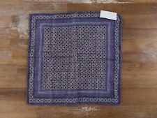 BRUNELLO CUCINELLI reversible silk pocket square authentic - NWT