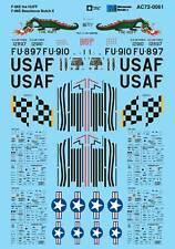 Microscale Decals 1/72 North American F-86E Sabre # AC720061