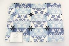 "17"" X 24"" HD Designs Memory Foam Christmas Snowflake Bath Mat"
