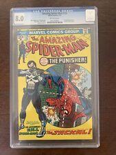 Amazing Spiderman #129 CGC 8.0 1st App. of the Punisher
