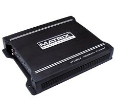 MATRIX AUDIO VX1000.2 1000 WATT CAR AUDIO STEREO 2 CHANNEL AMP AMPLIFIER NEW