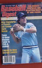 1980 BASEBALL DIGEST GEORGE BRETT KANSAS CITY ROYALS - MAKE AN OFFER!