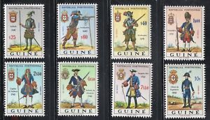 PORTUGAL Guinee Guinea 1966 uniforms set (MNH)