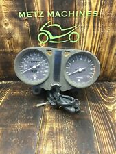 77-79 SUZUKI GS550 Gauge Cluster Instrument Panel Speedo Tach