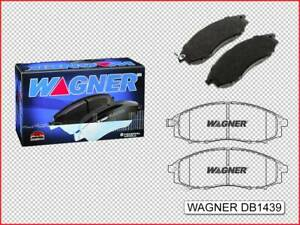 Nissan Navara D22 11/2001 - 1/2008 WAGNER Front Brake Pads DB1439
