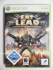 jeu EAT LEAD the Return of Matt Hazard sur xbox 360 en francais game spiel TBE