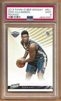 2018-19 Panini Cyber Monday Zion Williamson #RC1 Rookie PSA 9 Mint Pelicans