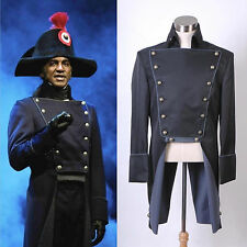 Musical Les Miserables Norm Lewis Javert Jacket Costume Black Version *tailored*