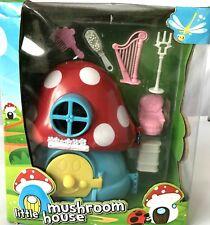 Bambini Ragazzi Ragazze Piccolo Fungo House Set Giocattolo