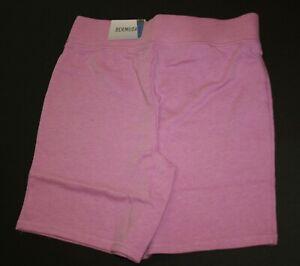 NEW Justice Girls Purple Athletic Bermuda Length Shorts 8 10 12 14 16 plus years