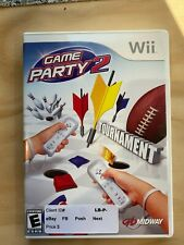 Wii EA Games Game Party 2 Tournament Midway Rated E Puck Bowling Dart Trivia