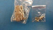 (1 PC) 5745854-5 (EQUAL) CONN BACKSHELL DSUB 9 POS METAL PLATED CABLE CLAMP KIT