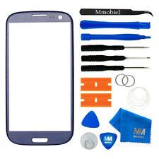 Front Display Glas für Samsung Galaxy S3 / S3 Neo (BLAU) + Werkzeug