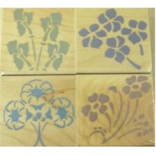 "HERO ARTS ""ORNAMENTAL STENCIL FLOWERS"" STAMP SET"