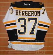 Patrice Bergeron Boston Bruins Signed Autographed Bruins Away Jersey