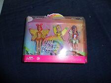Fairytopia Magic Of the Rainbow Glee/Enchantress/Sunburst- 2007 Barbie Dolls