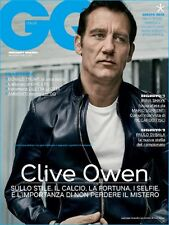 GQ Magazine Italy September 2016 Clive Owen NEW