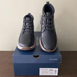 Cole Haan GrandSport Rugged Chukka C31412 Men's Chukka Leather Boots  Size 11 M