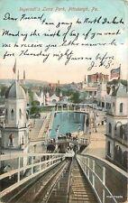 1906 Pittsburgh Pennsylvania Ingersoll Luna Roller Coaster Metropolitian 10460