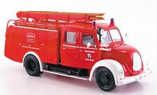 ROAD SIGNATURE 43010B, MAGIRUS DEUTZ MERKUR TLF16 '61 FIRE ENGINE, 1:43 SCALE