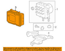 GM OEM Anti-lock Brakes-Control Module 22754644