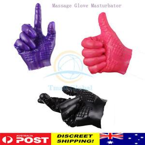 Sex Massage Gloves G spot Stimulator Unisex Masturbation Magic Hand Masturbator