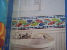 "Colorful Surfboards Wallpaper Wall Decor Border beach surf board  15' X 6.87"""