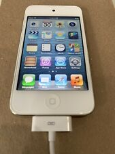 Apple iPod touch 4th Generation White (8GB) **battery issue**