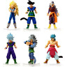 Dragon Ball Z Super Saiyan vegeta Son Goku 6 set PVC Action Figures