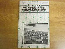 March 1948, WRITER & PHOTOGRAPHER, Russell Willer, Olgar Trim, Kenneth Waggoner.