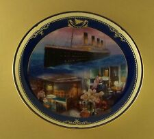 Titanic: Queen Of The Ocean THE FIRST-CLASS STATEROOM Plate #7 James Griffin