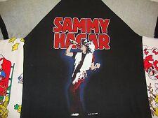 Vintage Sammy Hagar 1983 Concert Tour Jersey Ringer Sleeve van halen T Shirt M