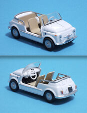 FIAT 500 GHIA JOLLY BIANCO 1957 - DIE CAST MODEL 1:43 - MONDO MOTORS - RARA