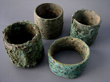Wholesale Very Old & Most Rare 4 Ancient Bronze Bangle Beautiful Cheap Don't Mis