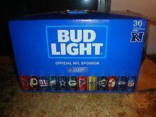 Bud Light 2016 Kickoff Box beer can Limited Edition Cowboys Vikings Empty Box
