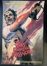 TEXAS CHAINSAW MASSACRE Movie Poster Mondo Richard Hilliard