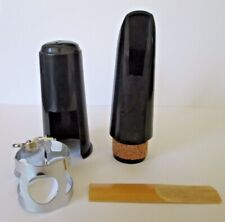 More details for clarinet mouthpiece set - new - 4 pieces  - fast delivery uk from uk supplier