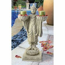 """Avalokitesvara Buddha Design Toscano Oriental Outdoor 24½"""" Garden Statue"""