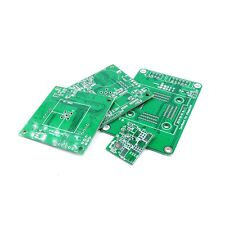 100 x 100 mm Double Layer PCB Prototyp Service, 10 pcs.